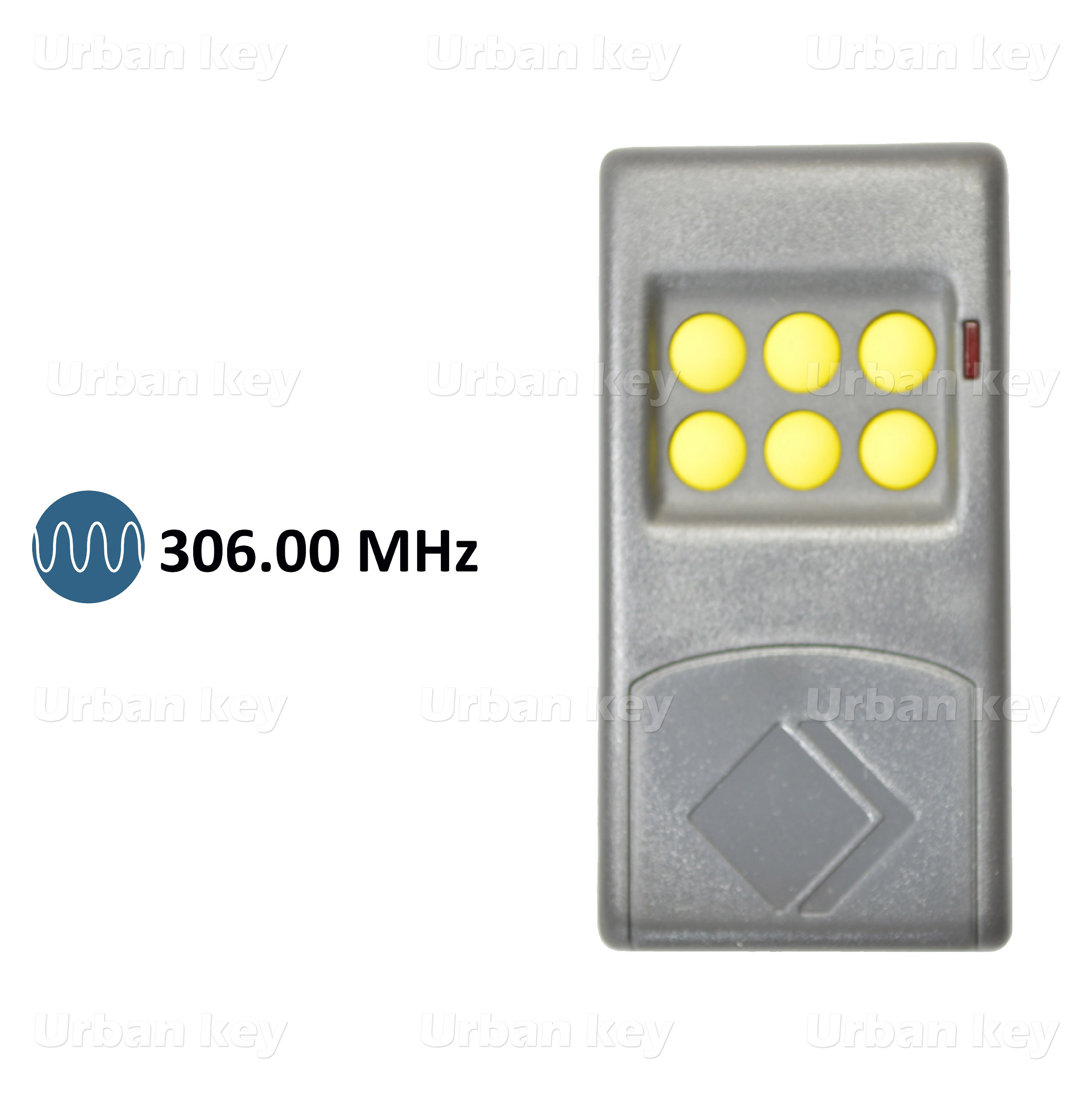 EMISSOR MOTORLINE MX6 306MHZ 6 CANAIS
