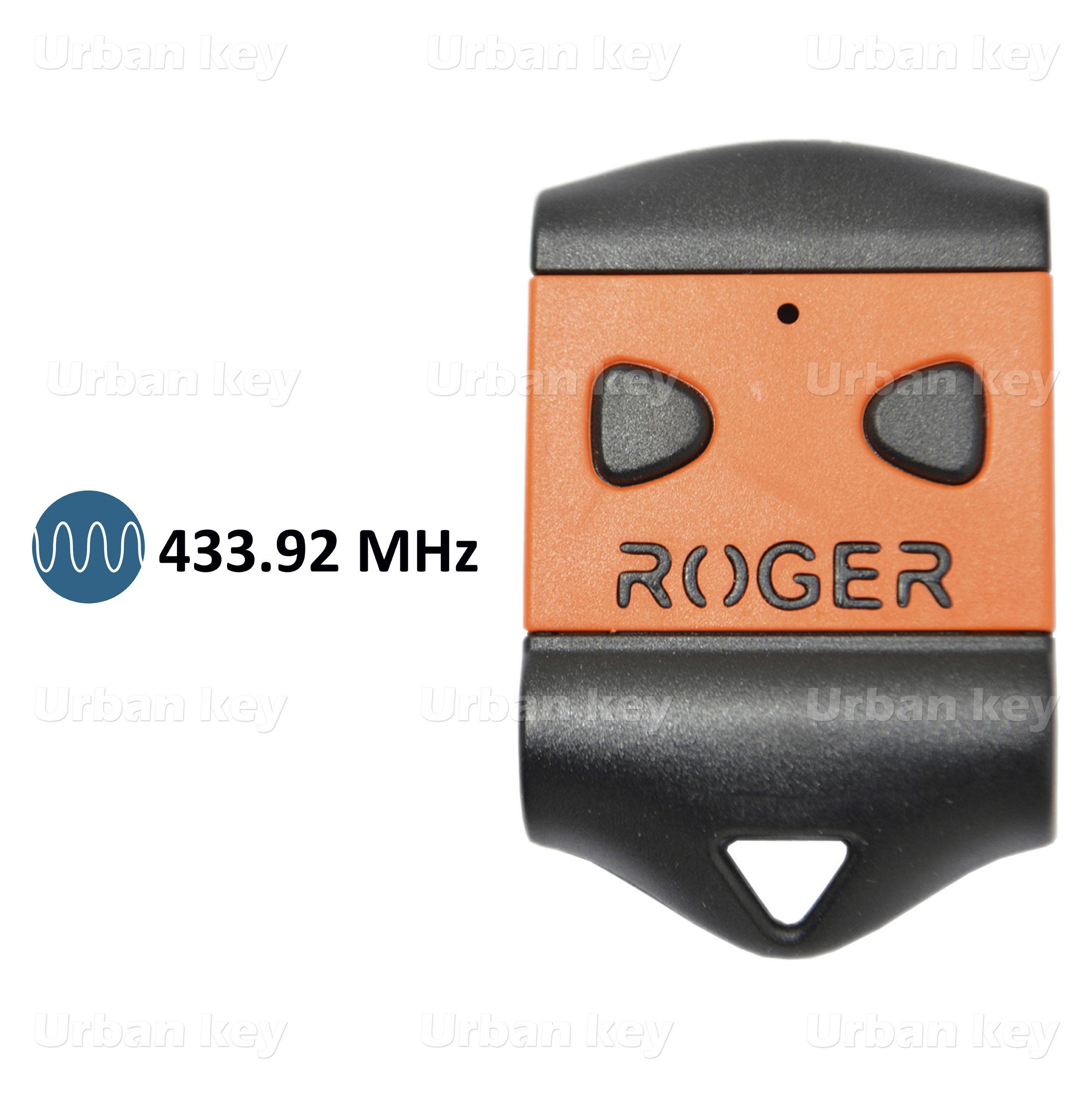 EMISSOR ROGER H80-TX22 433Mhz 2 CANAIS