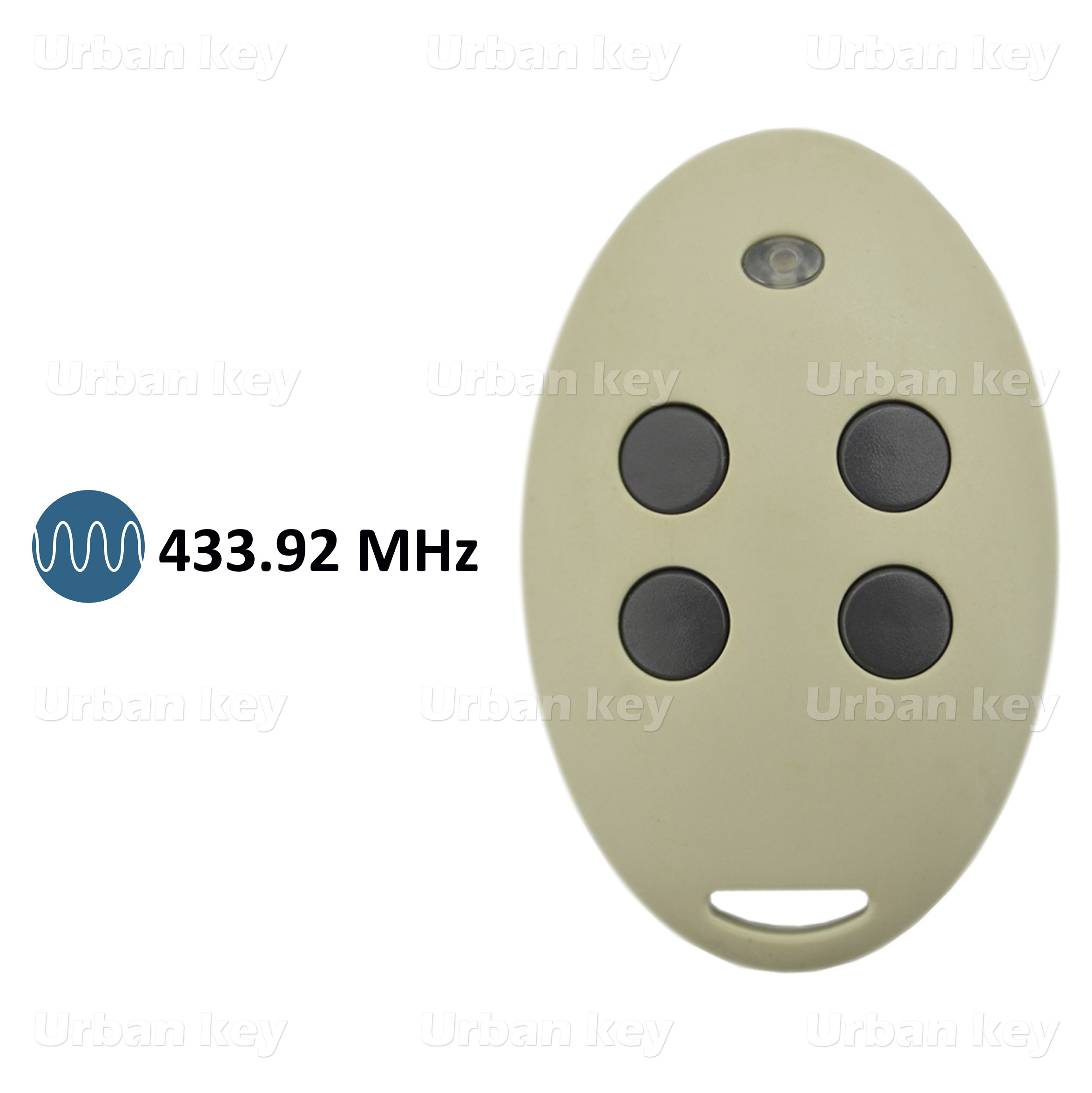 EMISSOR SOMFY MITTO RTR 433MHZ 4 CANAIS