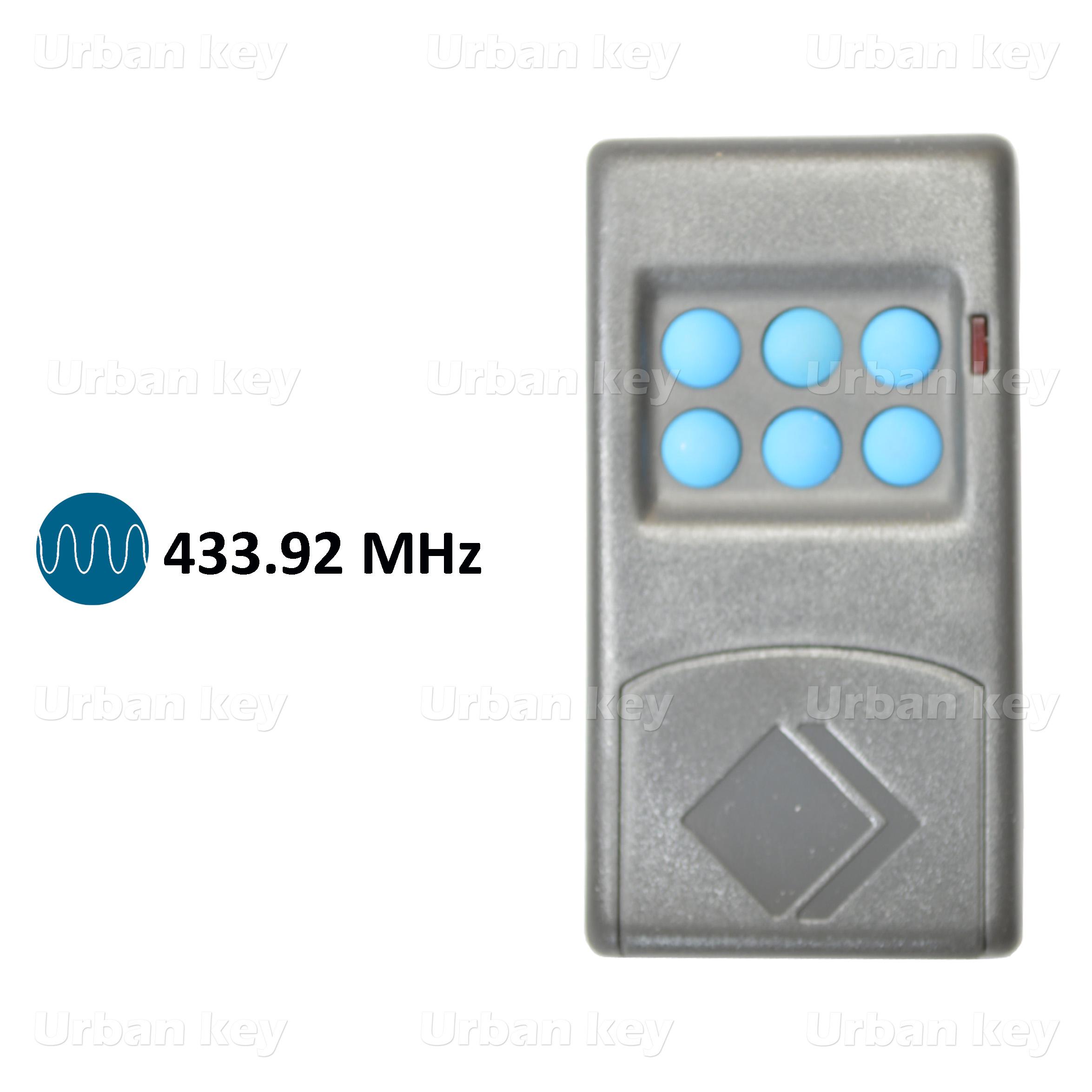 EMISSOR MOTORLINE MX6 433MHZ 6 CANAIS