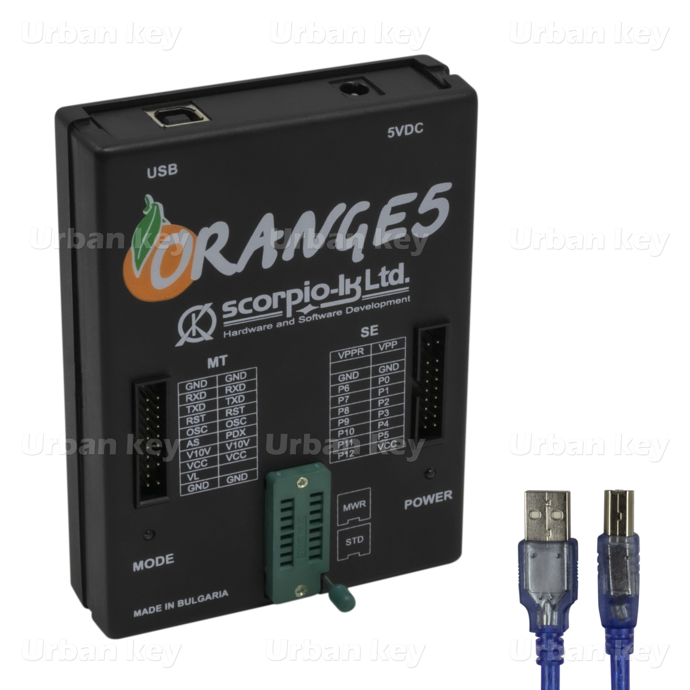 LEITOR EPROM ORANGE 5 PACK FULL