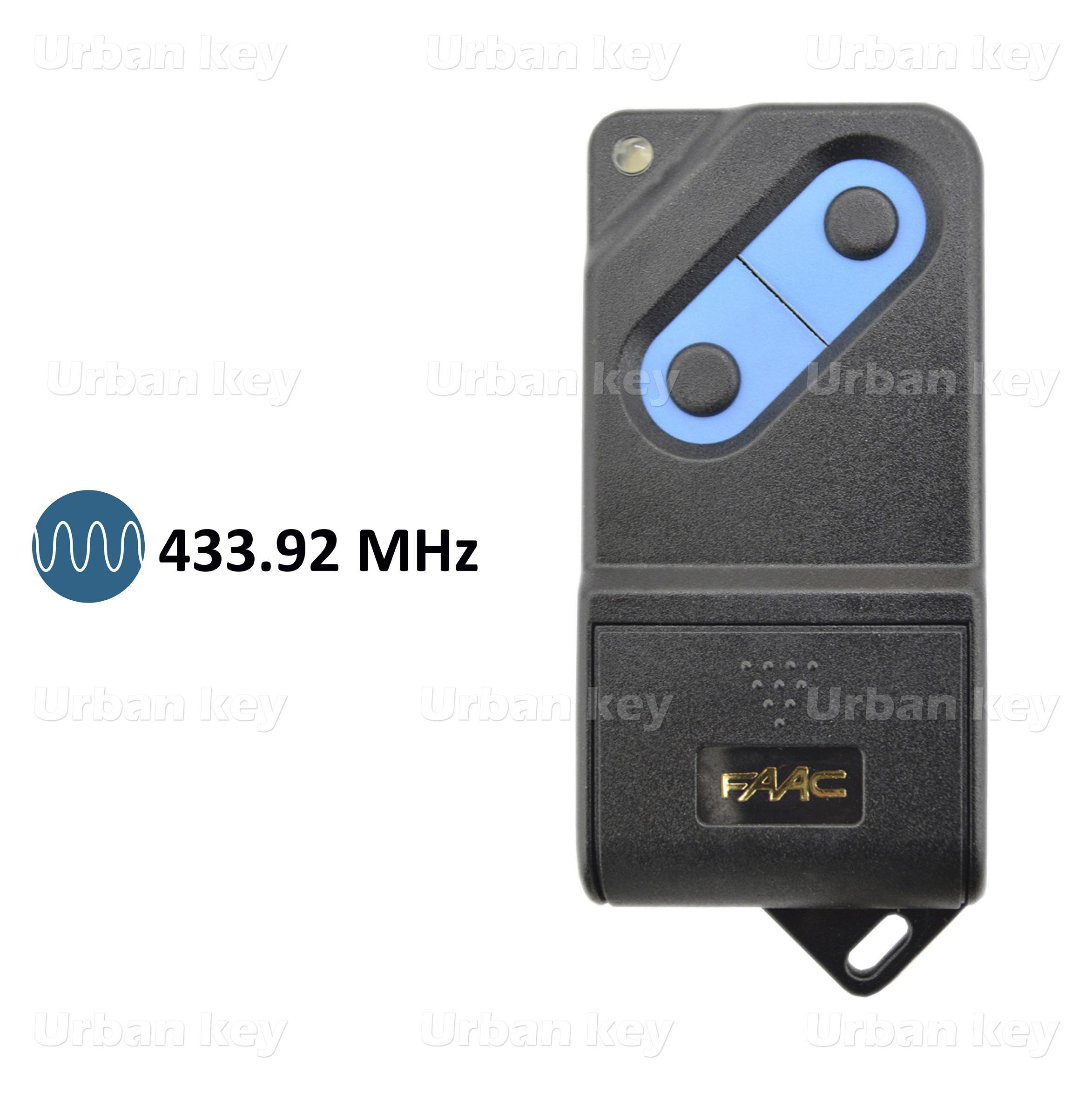 EMISSOR FAAC TM433 DS2 433 MHz 2 CANAIS