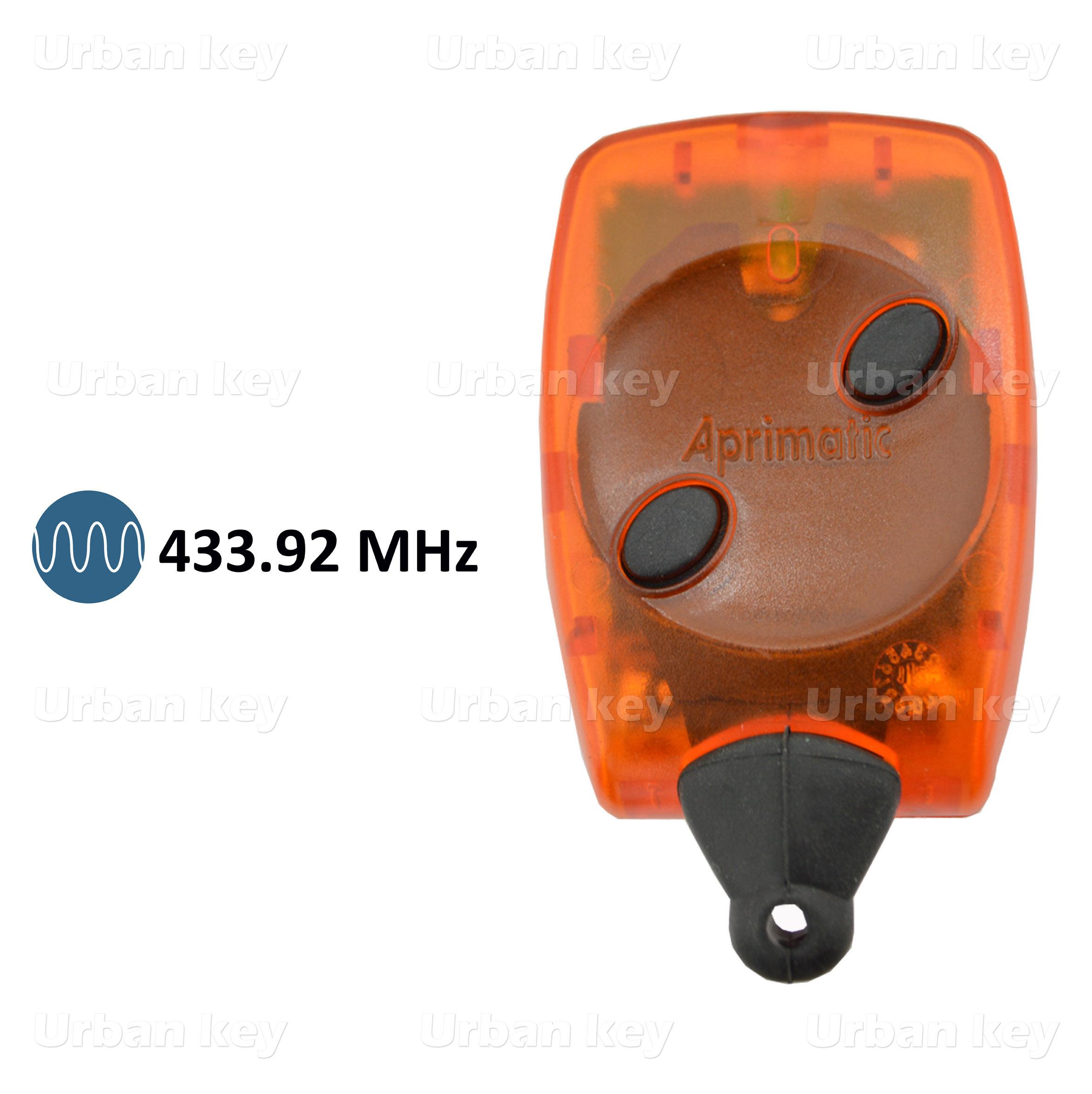 EMISSOR APRIMATIC TR2 BICANAL 433Mhz