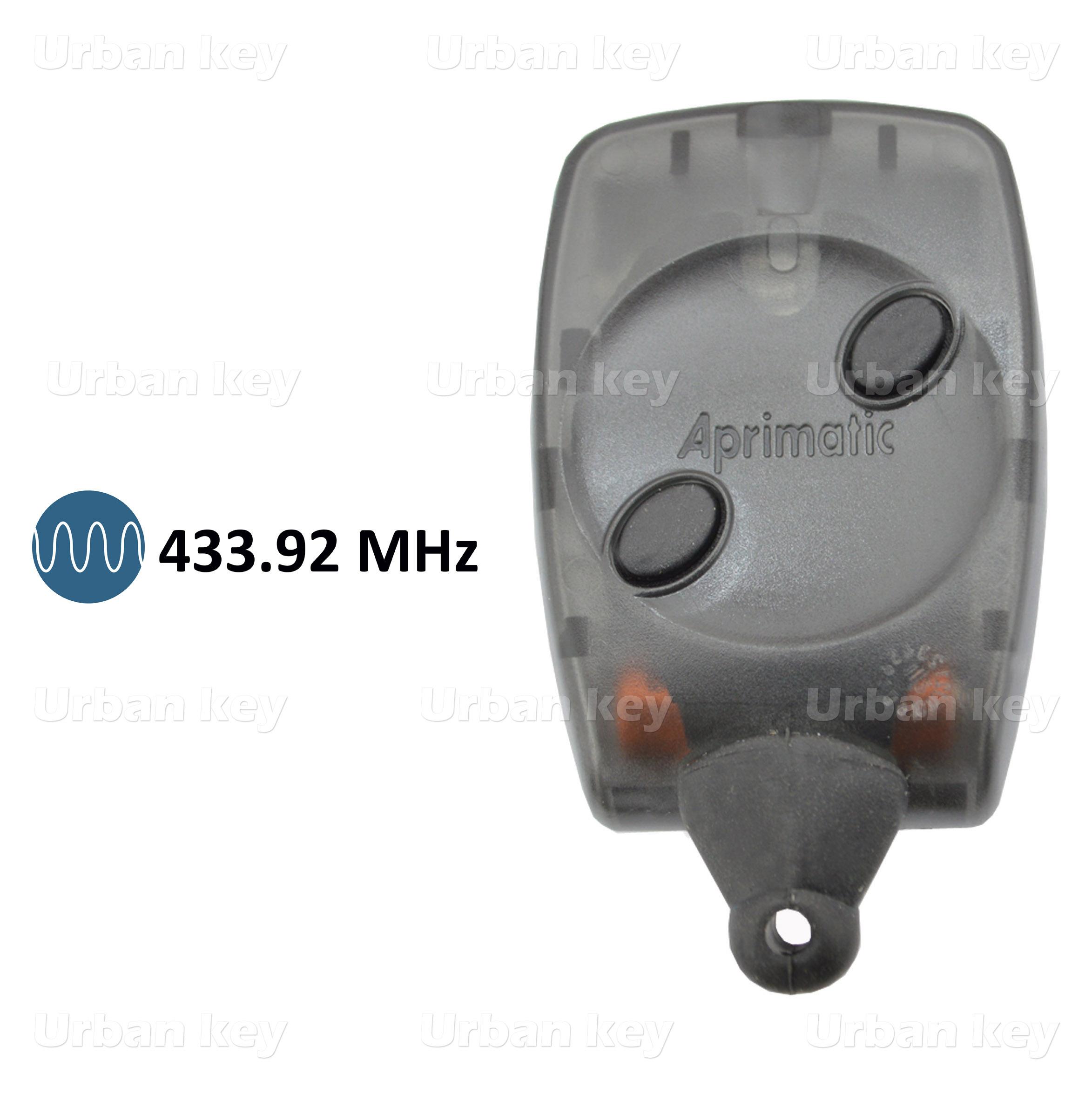 EMISSOR APRIMATIC TX2M  PRETO 433 MHz
