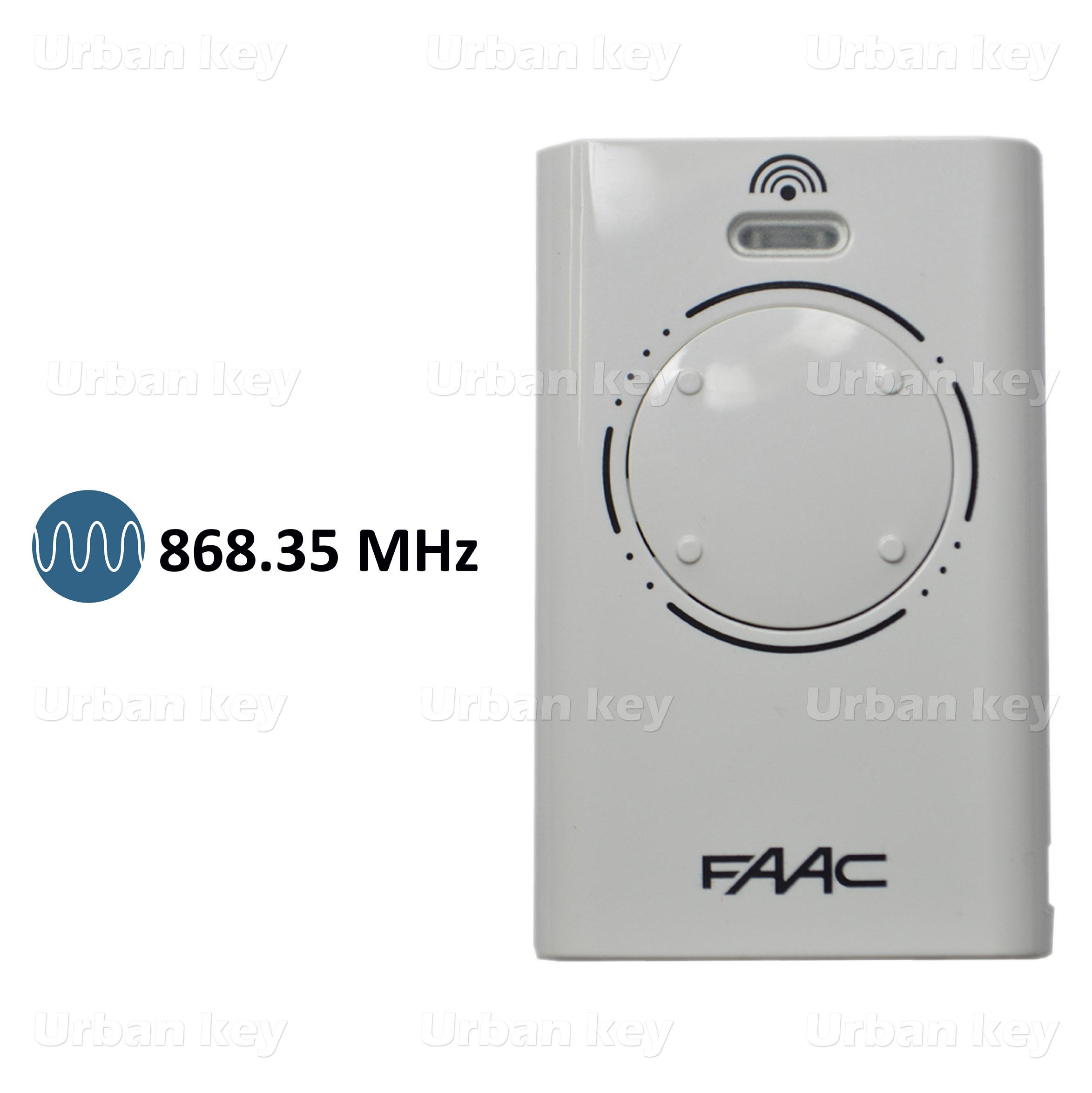 EMISSOR FAAC XT4 SLH 868 MHz 4 CANAIS