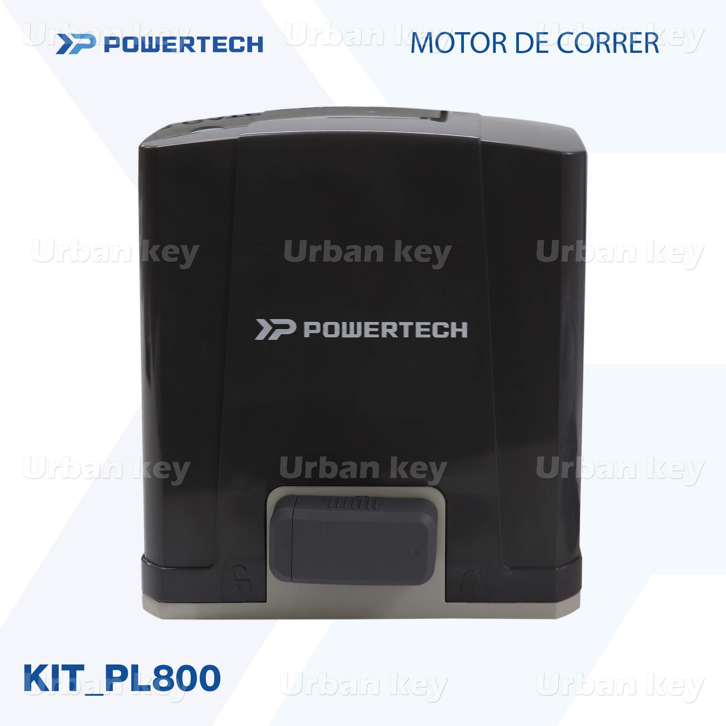 KIT MOTOR DE CORRER  PL800_DC POWERTECH