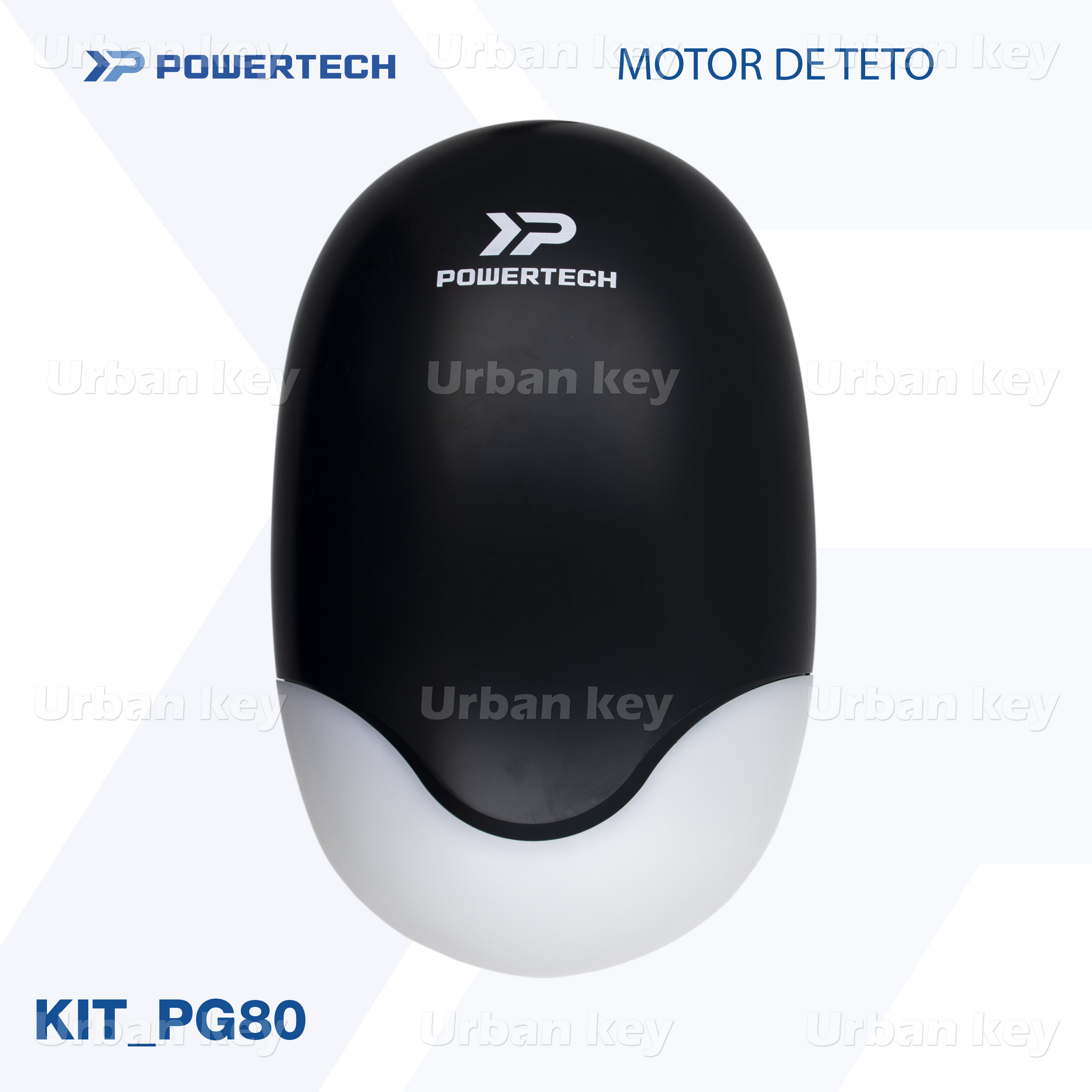 KIT MOTOR DE TETO PG80 POWERTECH