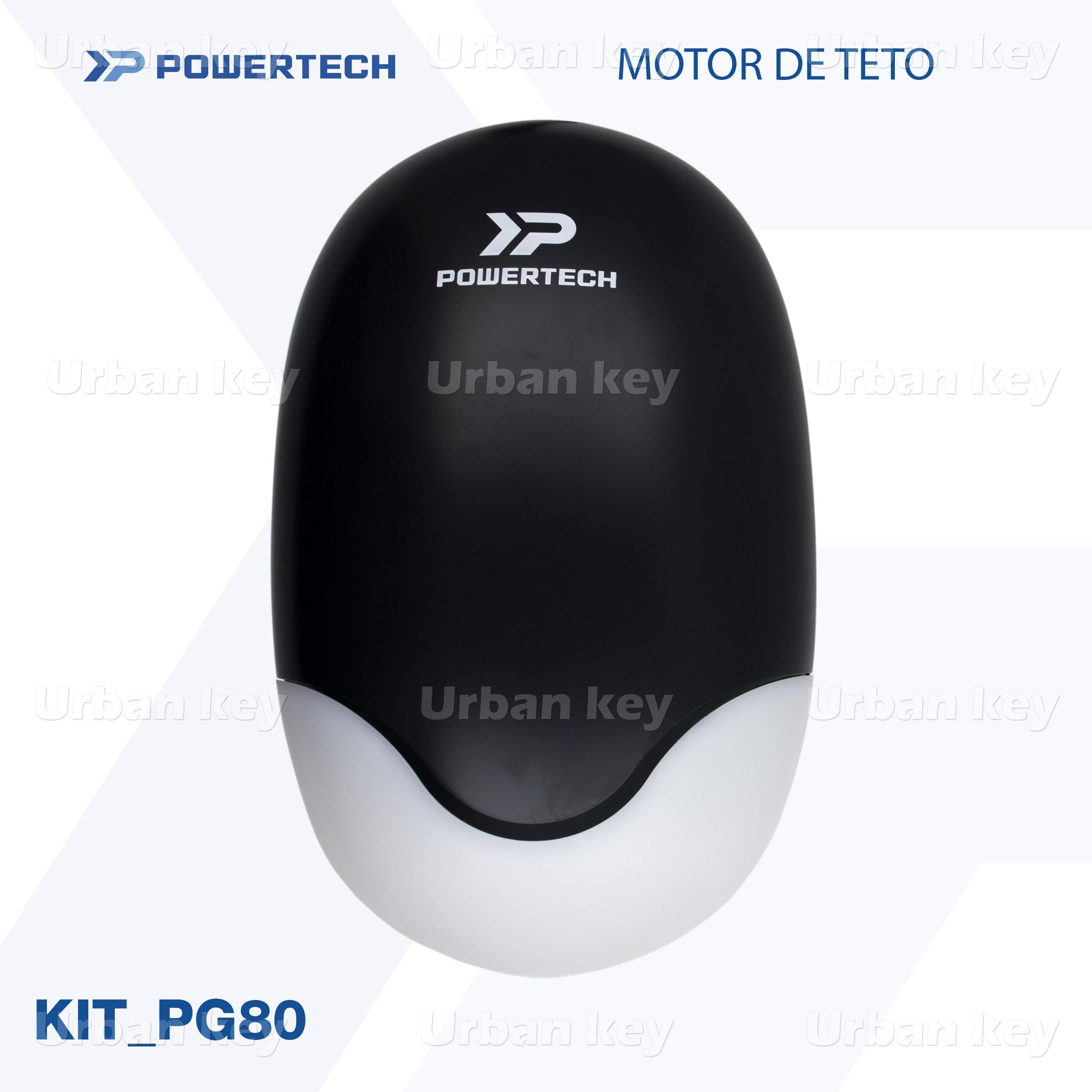 KIT MOTOR DE TETO PG80 POWERTECH