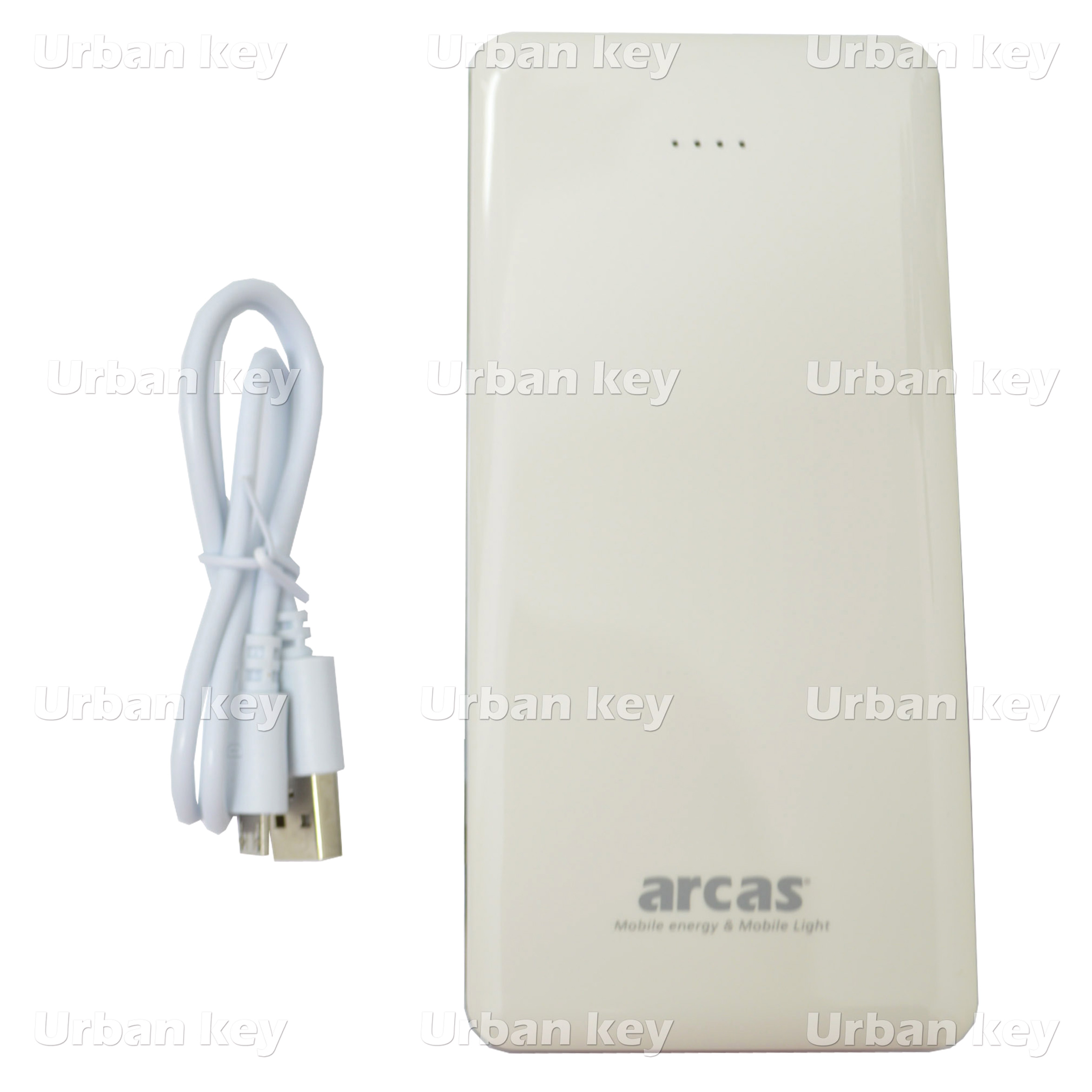 BATERIA PORTATIL POWERBANK 12000 mAh C/2 SAÍDAS USB