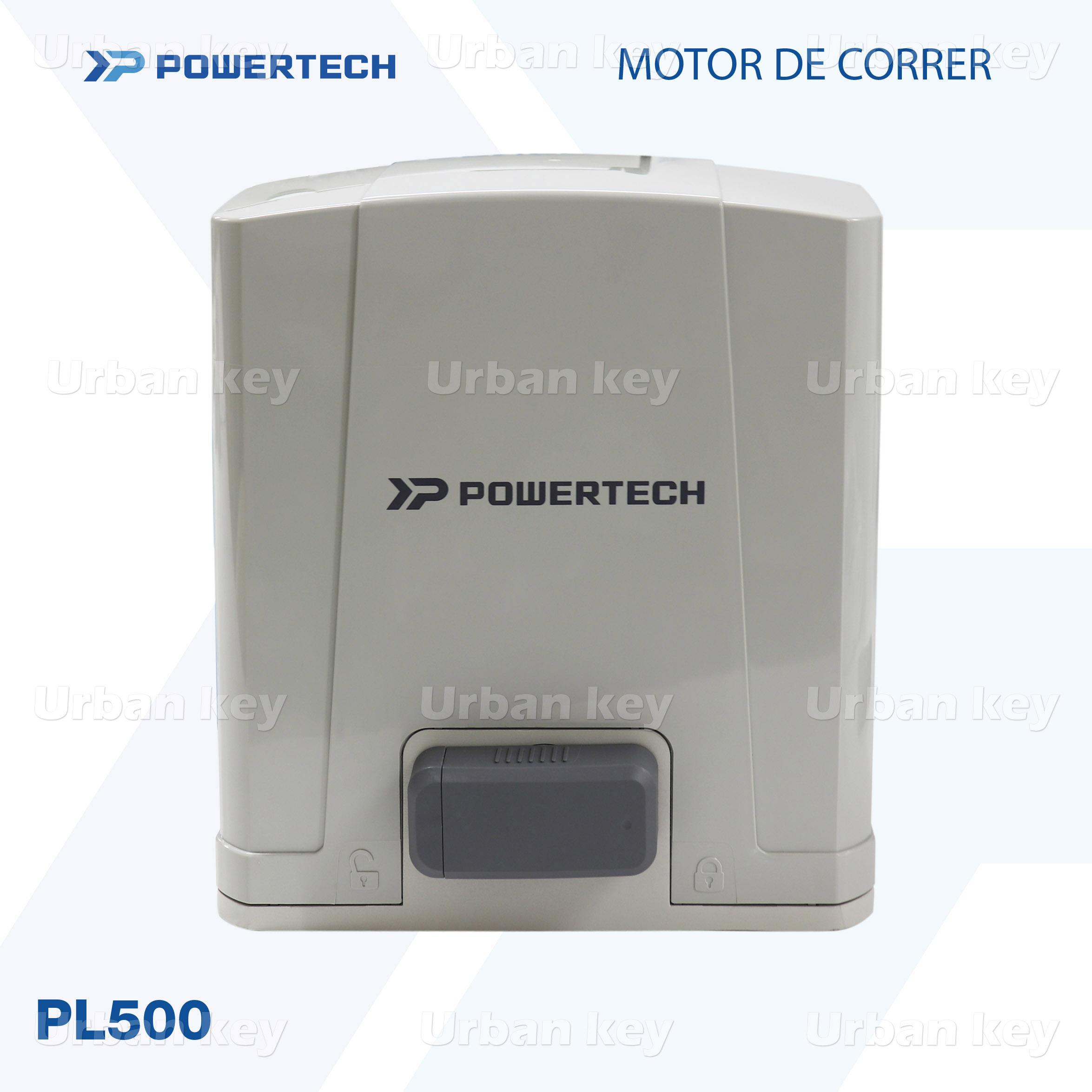 MOTOR DE CORRER PL500_DC POWERTECH