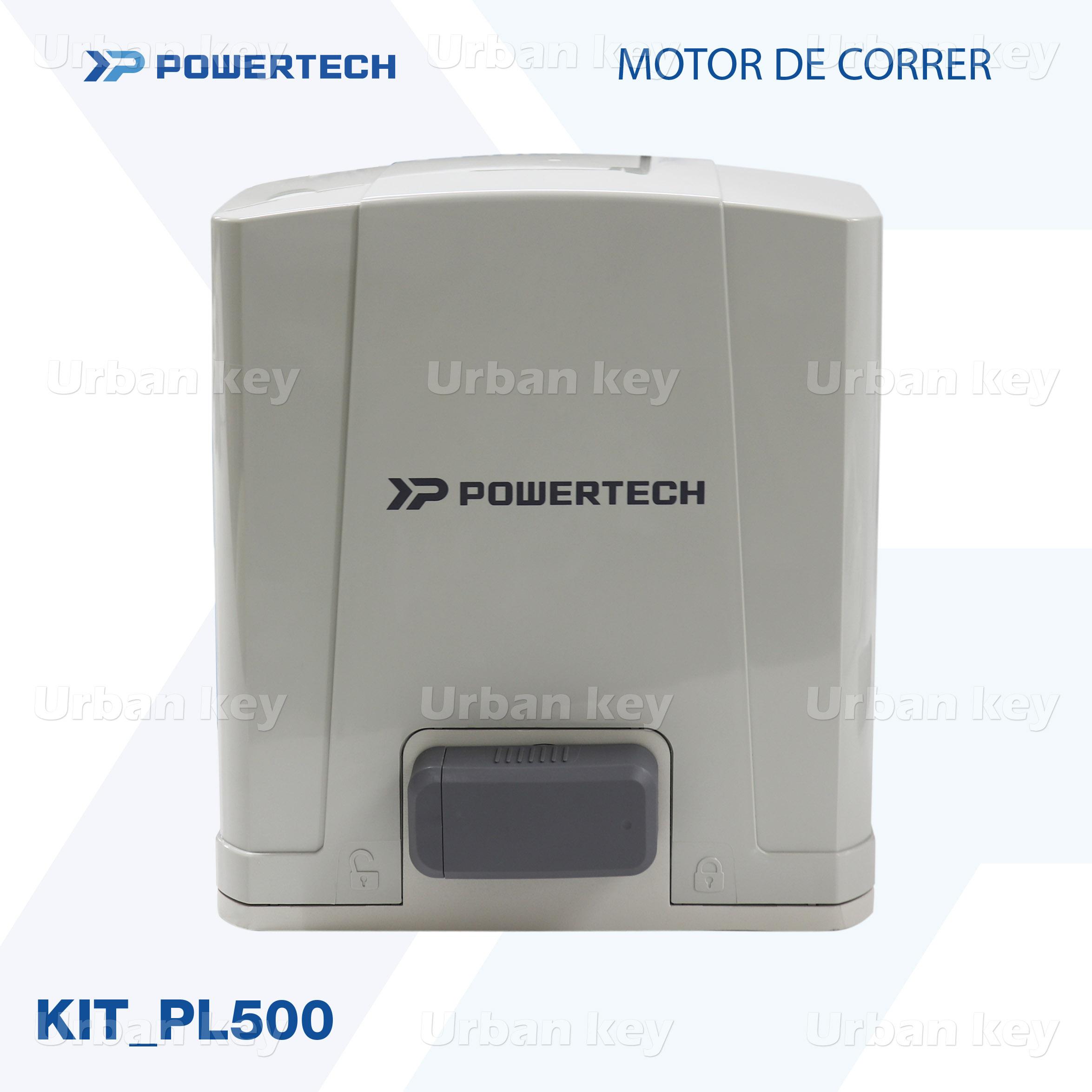 KIT MOTOR DE CORRER  PL500_DC POWERTECH