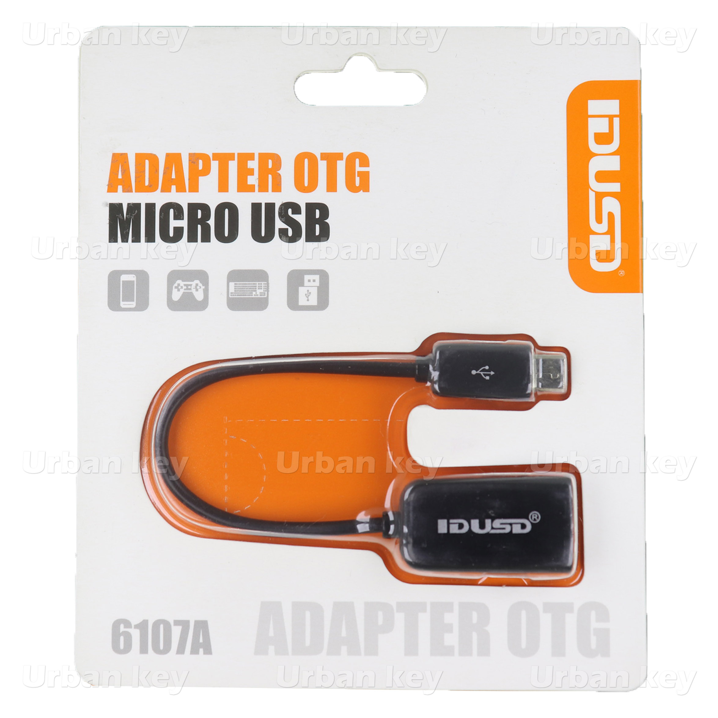 ADAPTADOR OTG MICRO USB PARA USB SMARTPHONES
