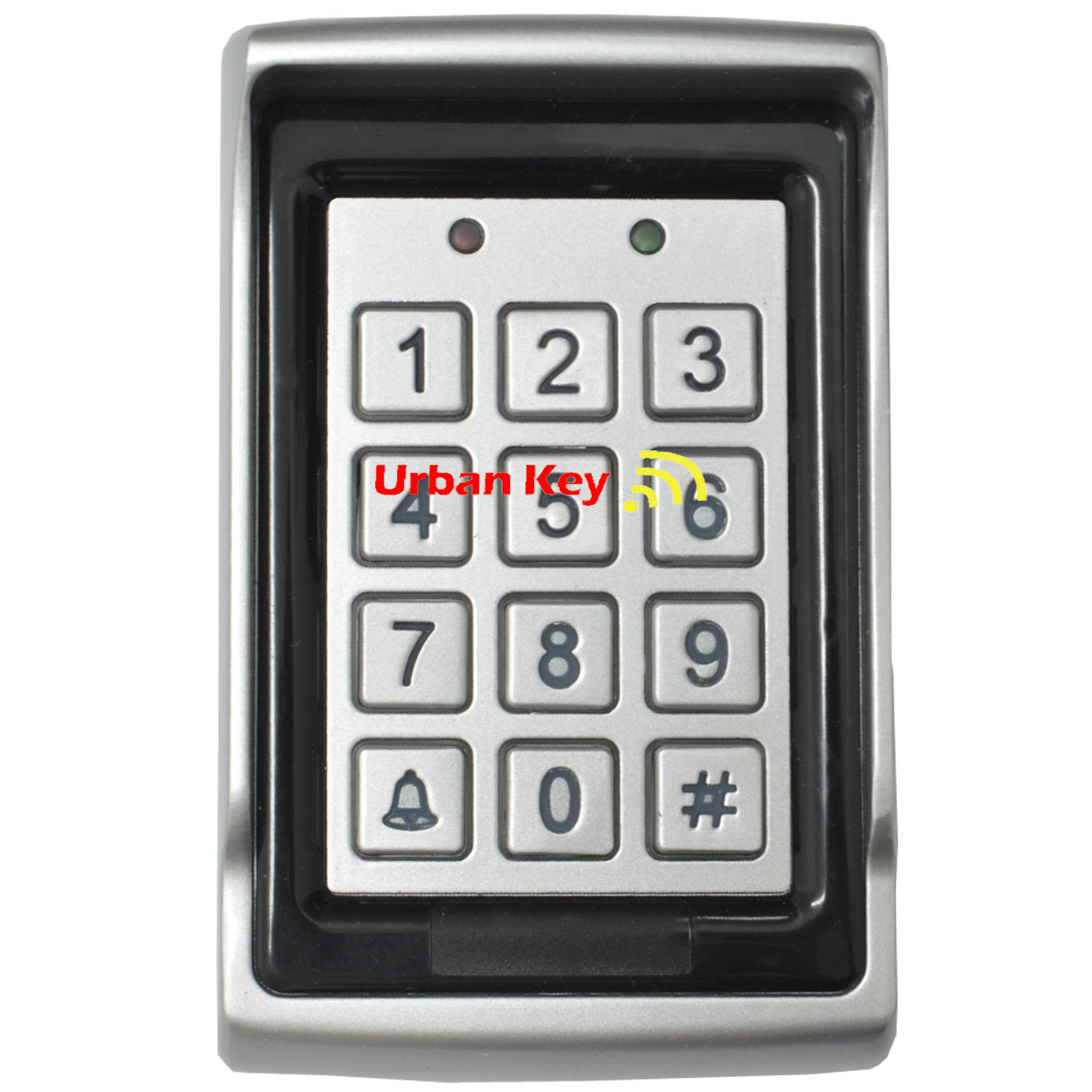 TECLADO NUMERICO COM LEITOR CARTOES RFID, COM FIOS