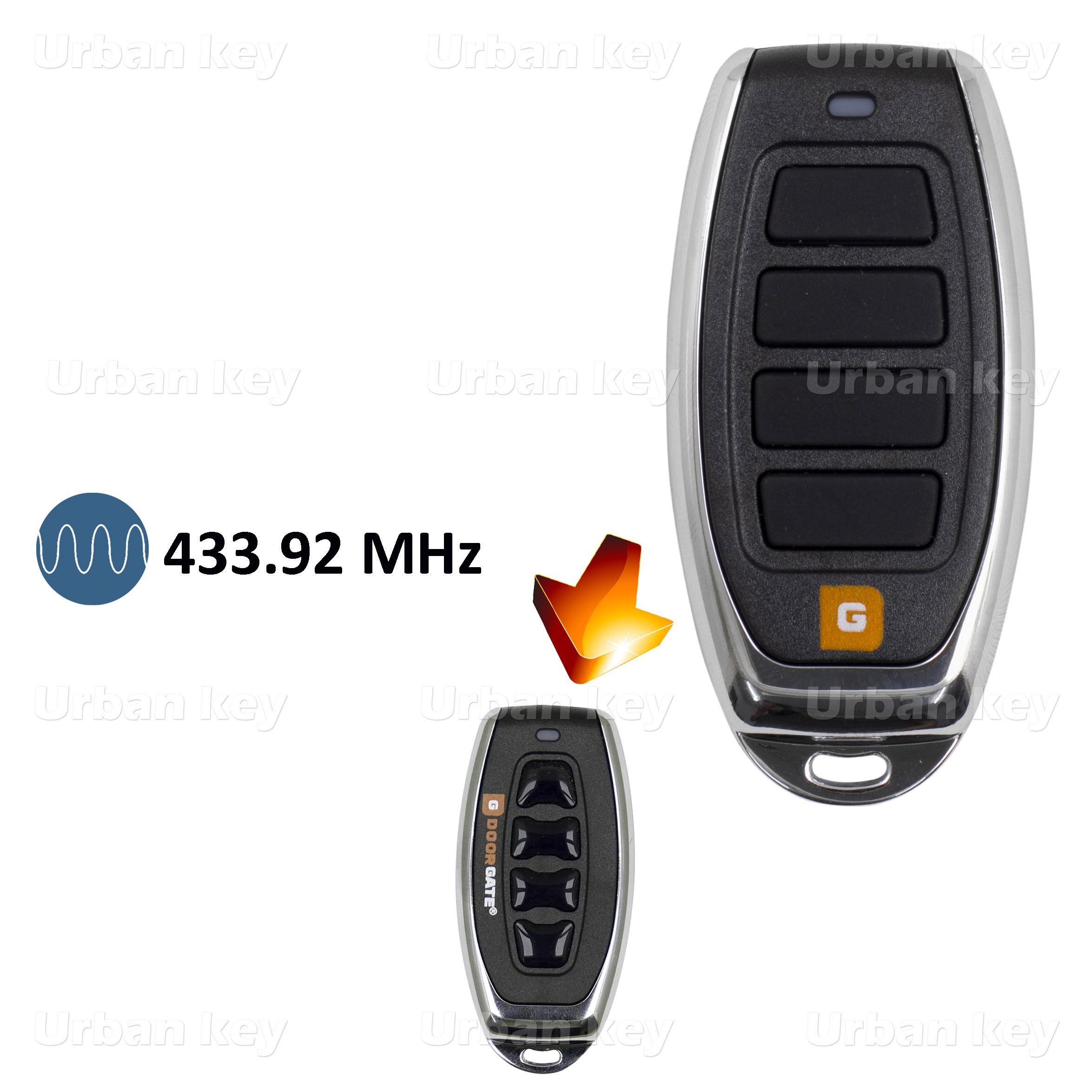 EMISSOR DOORGATE TX4 433 MHz 4 CANAIS