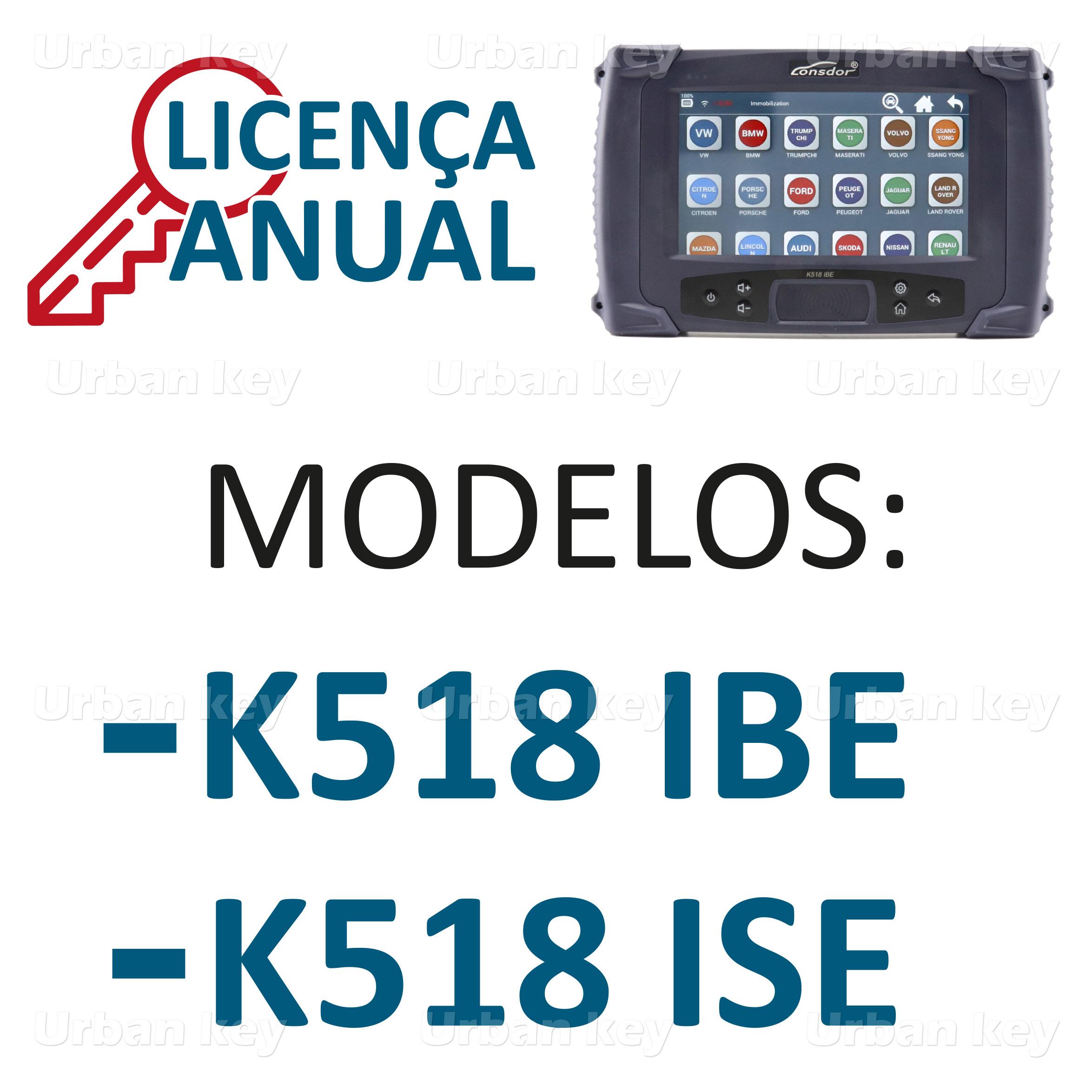 LICENCA ANUAL LONSDOR K518_IBE_ISE