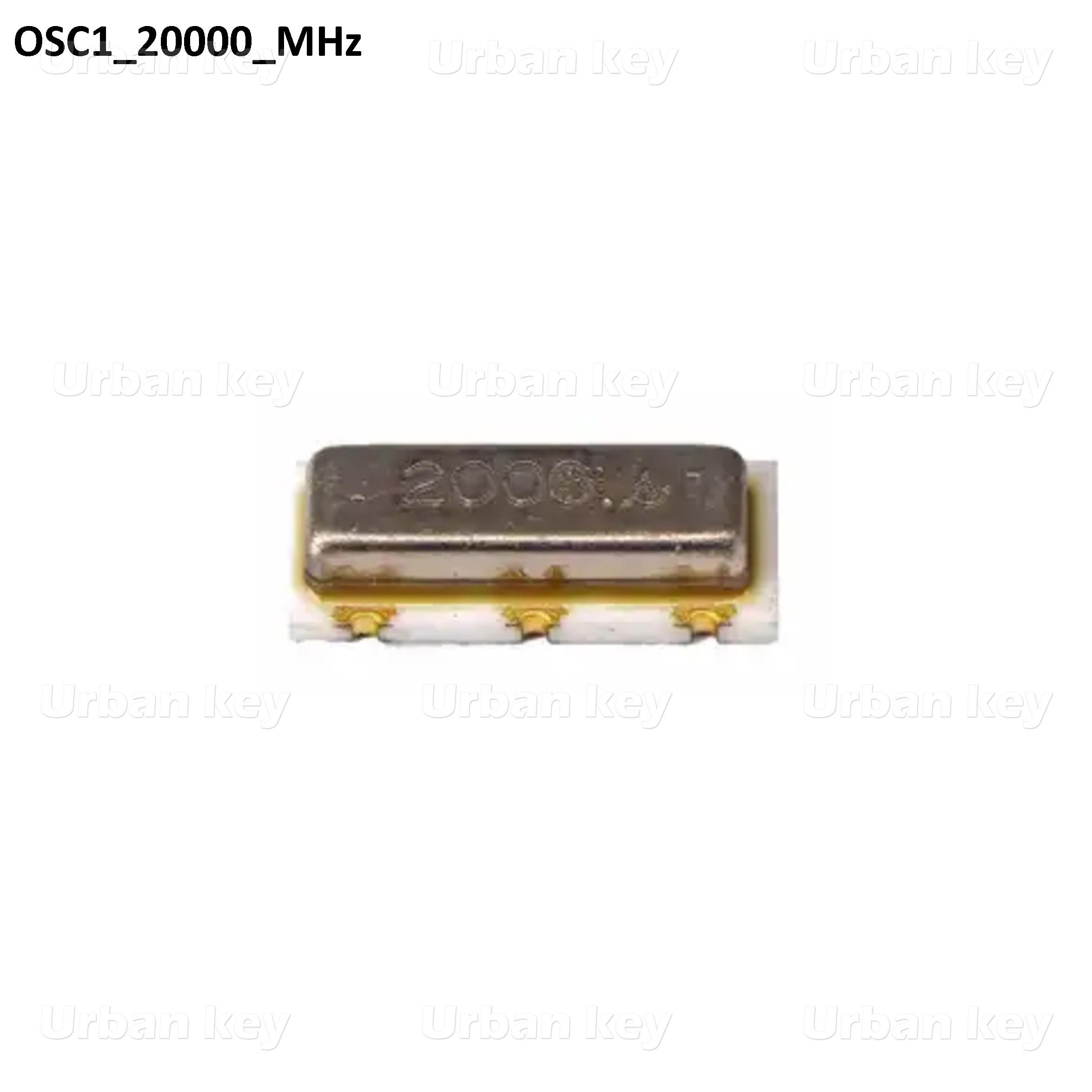 CRYSTAL OSCILADOR 20000_MHz