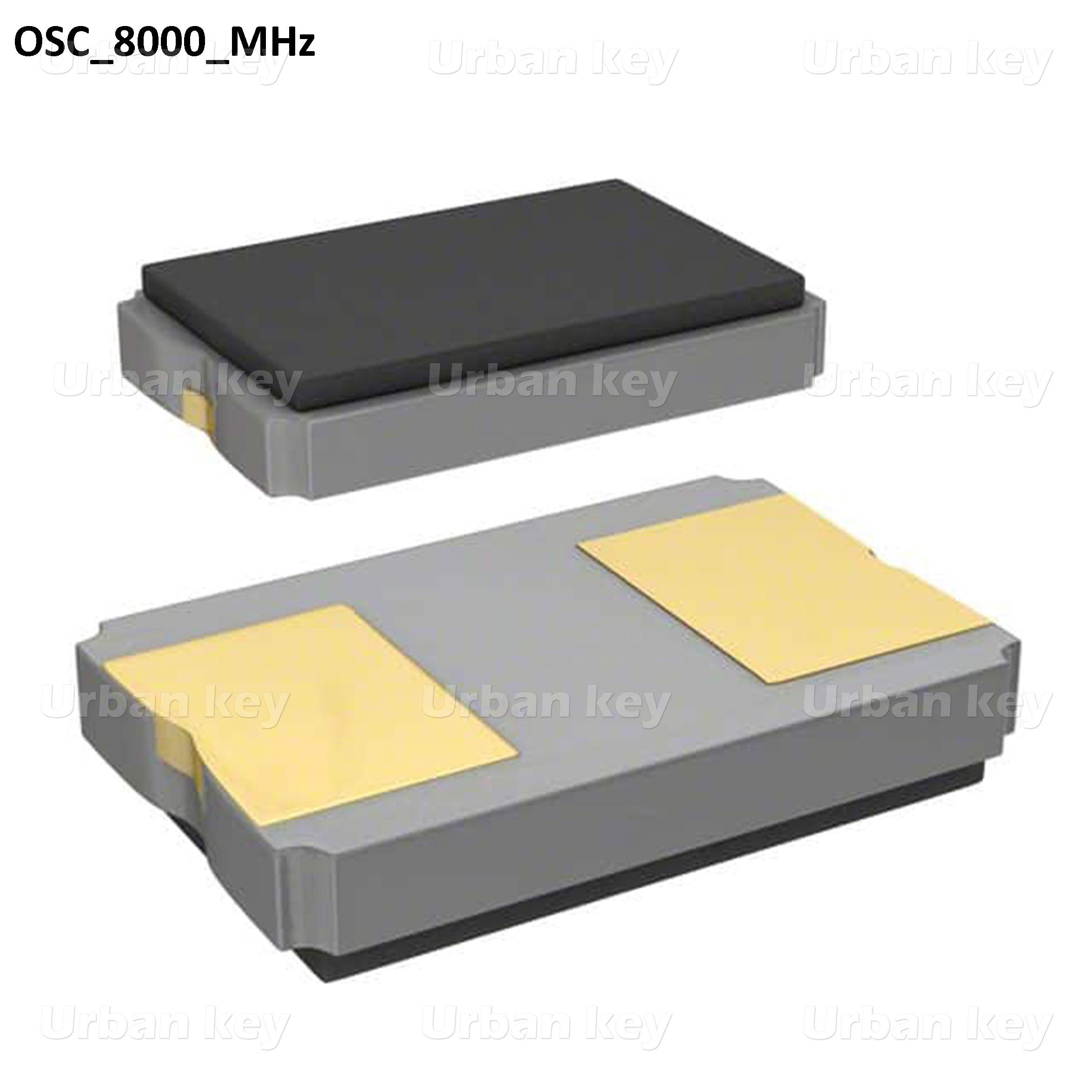CRYSTAL OSCILADOR_8000_MHz