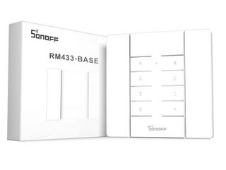 COMANDO DE 8 CANAIS 433MHZ SONOFF RM433